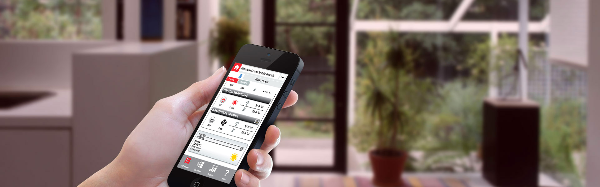 Access through your smartphone or tablet wherever you are!